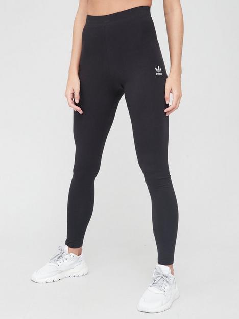 adidas-originals-trefoil-essentials-tights-black