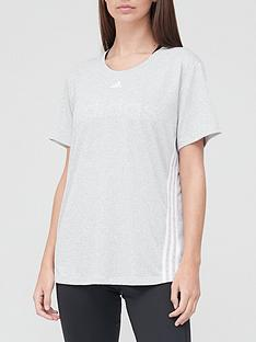 adidas-3-stripe-t-shirt-medium-grey-heathernbsp