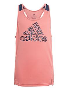 adidas-girls-leo-tank-top-pinknavy