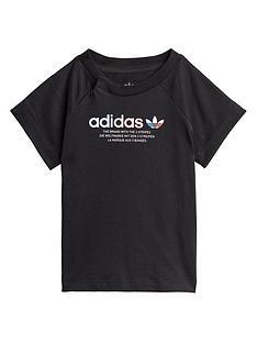 prod1090104730: Childrens Adicolor Tee - Black