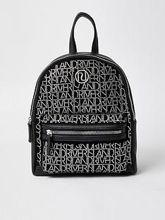 river-island-girls-river-island-diamante-backpack-black
