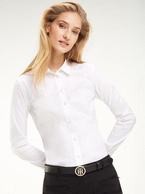 tommy-hilfiger-tommy-heritage-slim-fit-shirt-white