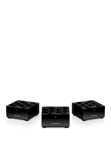 netgear-netgear-nighthawk-whole-home-mesh-wifi-6-system-mk63-ax1800-router-with-2-satellite-extender-coverage-up-to-3250-sq-ft-and-25-devices