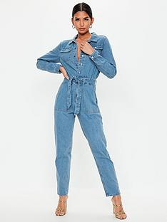 missguided-missguided-boiler-button-through-jumpsuit-light-wash