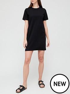 v-by-very-t-shirt-dress-black