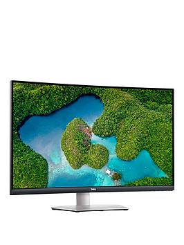 dell-s3221qs-315in-4k-uhd-curved-monitor--nbsp4msnbsp60hznbspamd-freesync-built-in-speakers-silver
