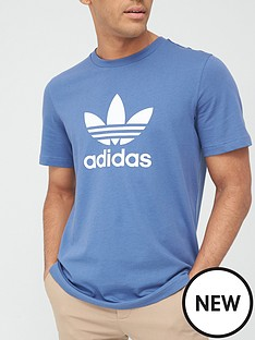 adidas-originals-trefoil-t-shirt-blue