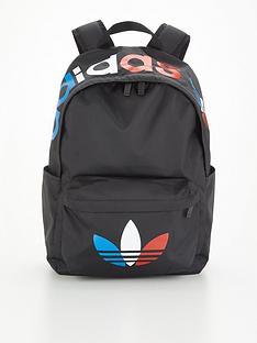 adidas-originals-tricolournbspbackpack-blacknbsp