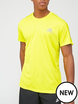 adidas-own-the-run-t-shirt-yellow