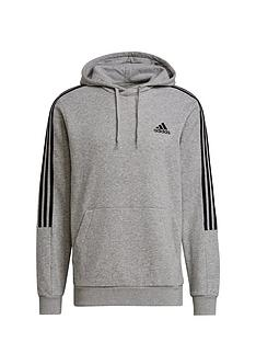 adidas-cut-3-stripe-hoodienbsp--medium-grey-heather