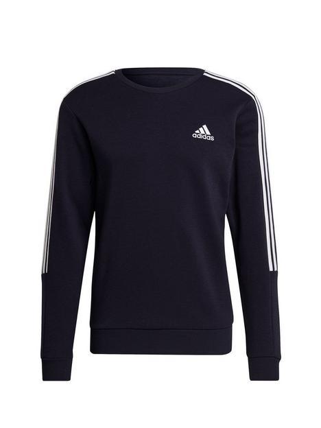 adidas-cut-3-stripe-sweat-top-navywhite