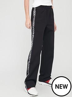 hugo-wide-leg-smart-trousers-blacknbsp