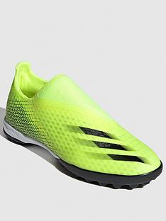 adidas-x-laceless-ghosted3-astro-turf-football-boots-yellow
