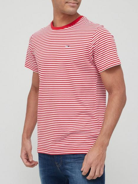 tommy-jeans-classics-stripe-t-shirt-red