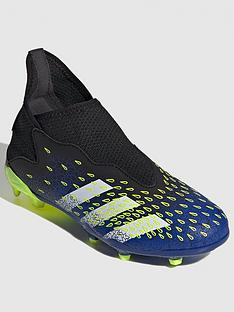 adidas-junior-predator-laceless-203-firm-ground-football-boot-blackyellow