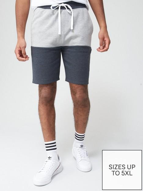 very-man-block-jog-short-grey