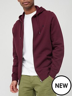 very-man-essential-zipnbsphoodie-burgundynbsp