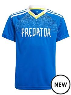 adidas-predator-short-sleeved-jersey-blue