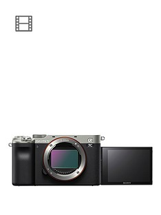 sony-sony-alpha-7-cnbspfull-frame-mirrorless-interchangeable-lens-camera-compact-and-lightweight-real-time-autofocus-242-megapixels-silver