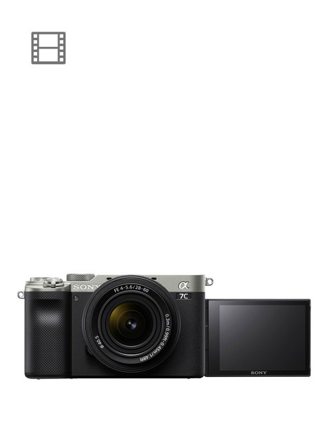 sony-sony-alpha-7-cnbspfull-frame-mirrorless-interchangeable-lens-camera-with-sony-fe-28-60mm-f4-56-zoom-lens-silver