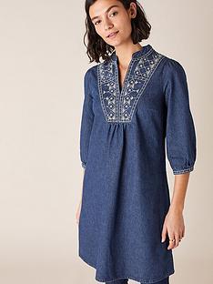 monsoon-embroidered-short-denim-dress-indigo