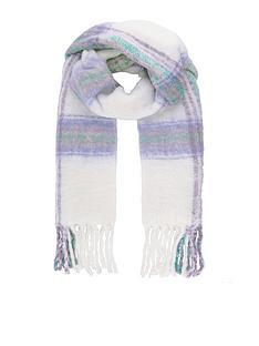 monsoon-monsoon-pastel-check-blanket-scarf-ivory