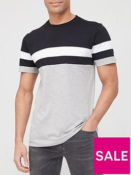 very-man-monochrome-colour-block-t-shirt-blackwhitegrey