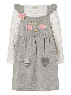 monsoon-baby-girls-heart-knitted-dress-and-top-grey