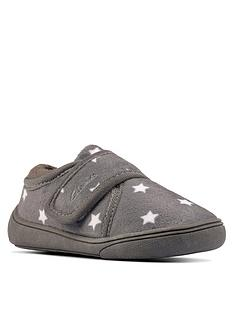 clarks-holmly-rest-toddler-slipper-grey
