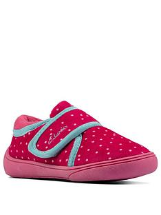 clarks-holmly-rest-toddler-slipper-pink