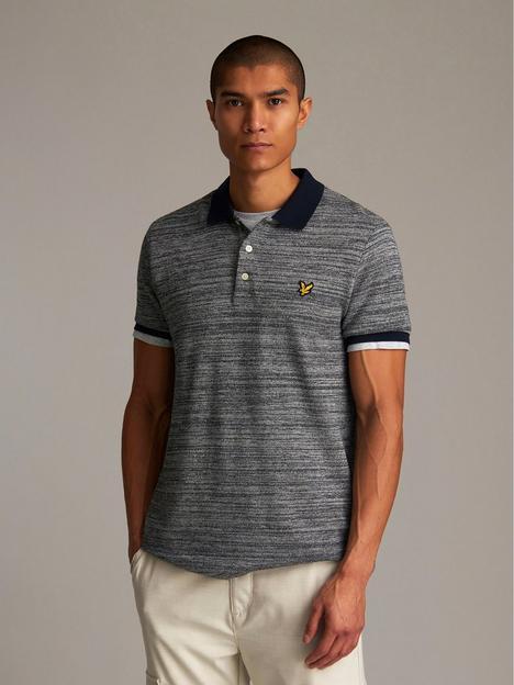 lyle-scott-yarn-mix-polo-shirt-dark-navy