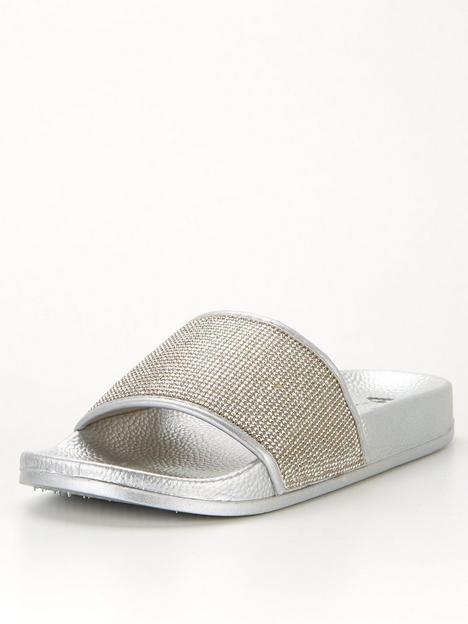 v-by-very-glitter-slider-silver