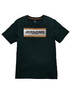 jack-jones-junior-boys-core-short-sleeve-t-shirt-darkest-spruce
