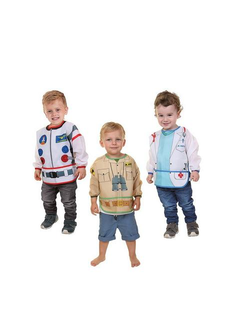 dreambaby-character-bibs-with-sleeves-3-pack