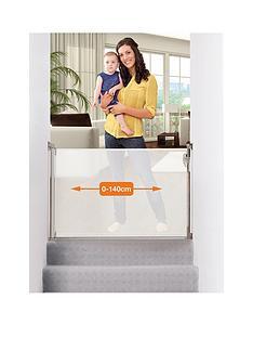 dreambaby-retractable-relocatable-gate-fits-gaps-0-140cm-whitemesh