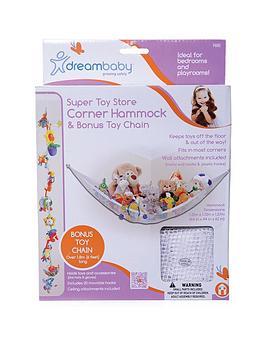 dreambaby-toy-storage-corner-hammock-with-bonus-toy-chain