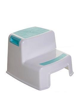 dreambaby-2-height-2-up-step-stool-aquawhite