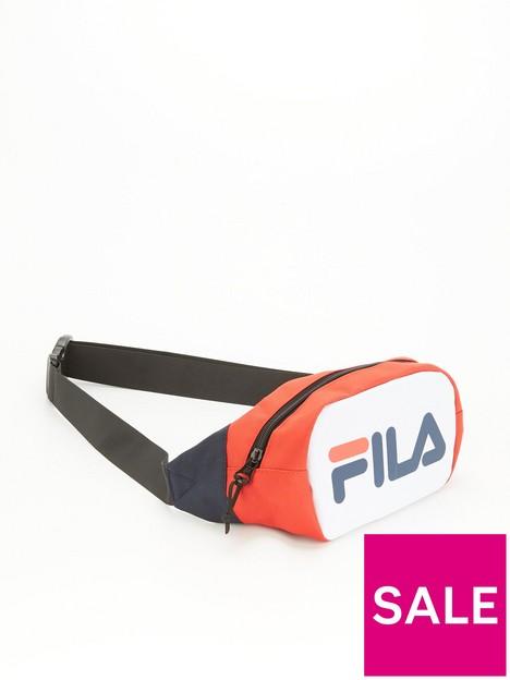 fila-soel-block-colour-waist-pack-navywhitered