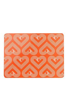 set-of-4nbspvibe-coralnbspplacemats