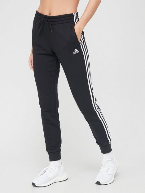 adidas-3-stripe-cuffed-pants-black
