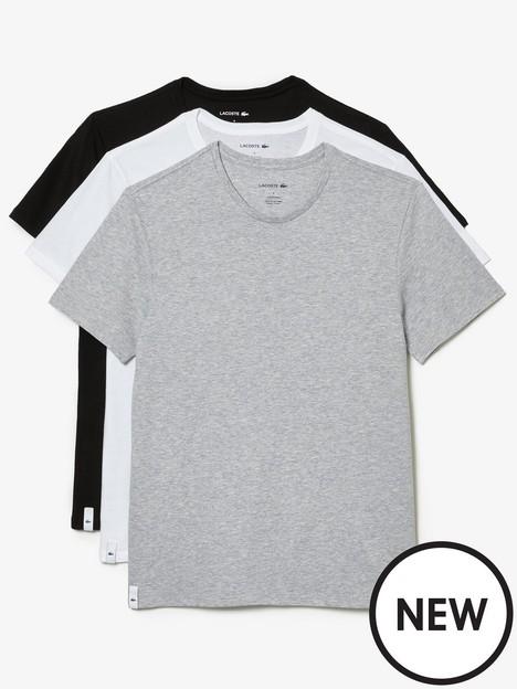 lacoste-three-pack-t-shirt-multi