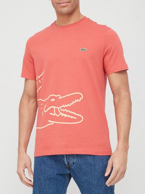 lacoste-lacoste-oversized-croc-detail-t-shirt-red