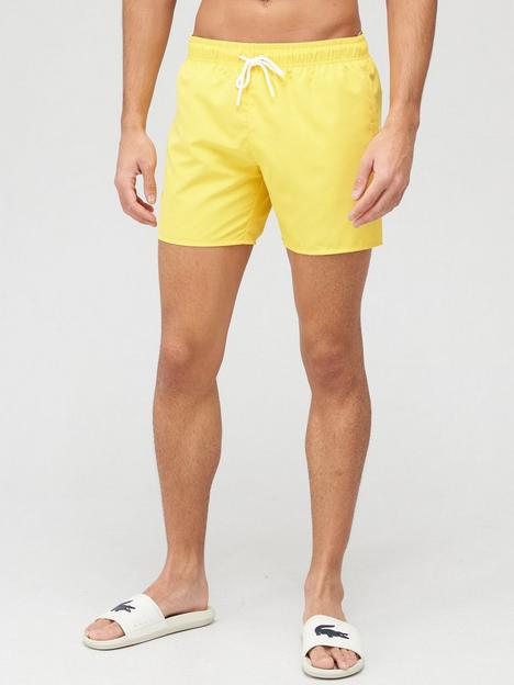 lacoste-classic-swim-short-yellow