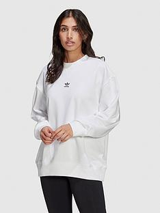 adidas-originals-trefoil-essentials-sweatshirt-white