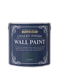 rust-oleum-chalky-finish-25-litre-wall-paint-ndash-evening-blue