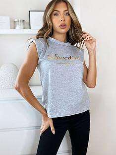 ax-paris-padded-shoulder-printed-t-shirt-grey