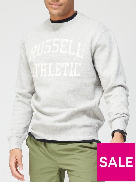 russell-athletic-iconic-crew-sweatshirt-grey
