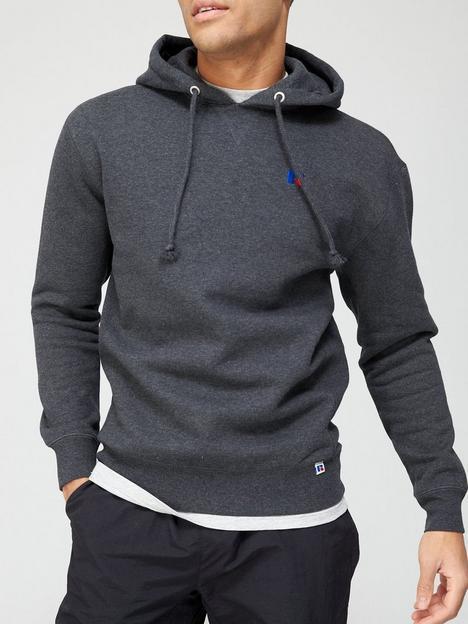 russell-athletic-mason-small-logo-hoodie-grey