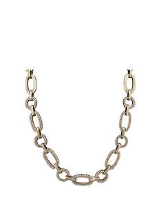 mood-gold-plated-crystal-pave-chain-necklace