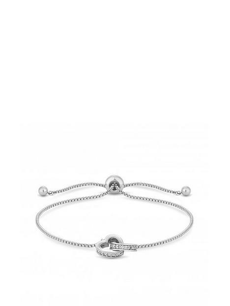 jon-richard-silver-plated-interlink-heart-toggle-bracelet
